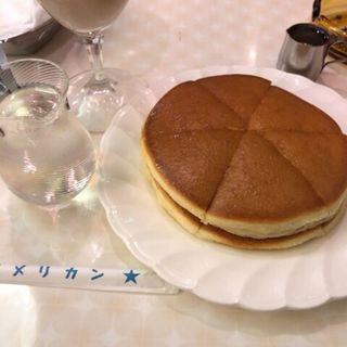 ホットケーキ(純喫茶 アメリカン)