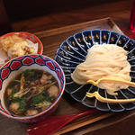 ぷるぷるホルモンつけ麺定食
