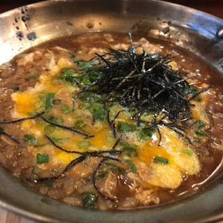 プレミアムおじや(つけウドン専門ト酒ト料理 花雷 烏丸店)