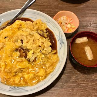 オムカレー(一番どり 六本木店 (いちばんどり))