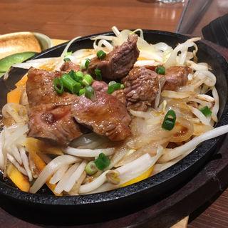 ランチ 鉄板焼きジンギスカン(ラムなご)