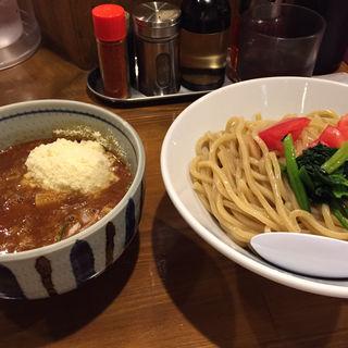 海老トマトつけ麺(麺屋 蕃茄 (ばんか))