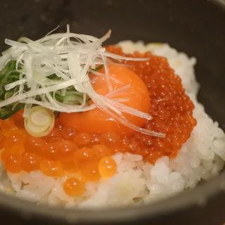 鮭バルのTKG(鮭バル SalmonBear)