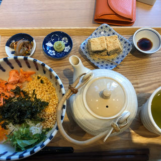 和風鮭茶漬け(cafe 煉屋八兵衛)