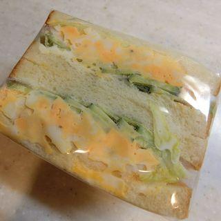 たまごと野菜サンド(セル・オ・ブレ (Sel eau ble))