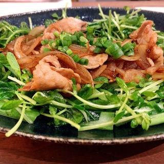 肉野菜炒め(SHIRU)