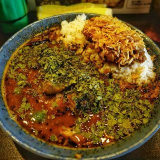 あいがけ鯖味噌カレー(カレーノトリコ )