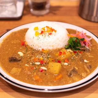 牛スジのビーフカレー(spiceスエヒロ (スパイススエヒロ))