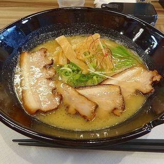 白湯醤油そば チャーシュー大(鶏そば 彩)