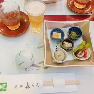 納涼川床料理(5月~9月平日のみ)(貴船喜らく (きふねきらく))