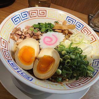 油そば(サバ6製麺所 鶴橋店)