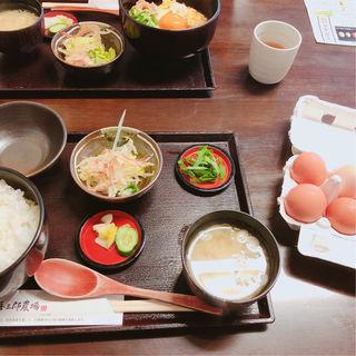 卵かけ御飯御膳(喜三郎農場 )