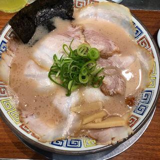 昔チャーシューメン(久留米 大砲ラーメン KITTE博多店)