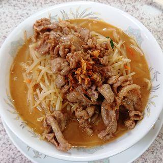 みそ肉タンメン(みそ一発 多摩川店 )