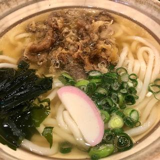 肉うどん(博多うどん よかよか 有楽町店)