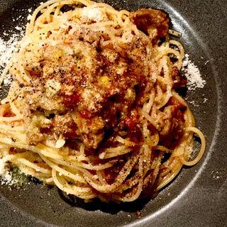 牛スジ肉のスパゲティ(Sazio(サジオ))