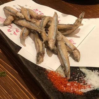 キビナゴの天ぷら(わらた )