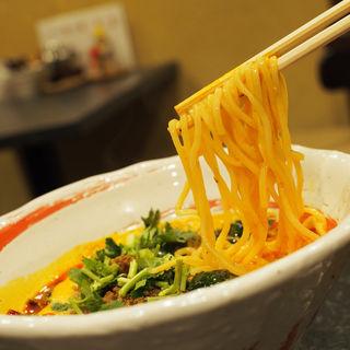 四川風白胡麻担々麺(鉄板中華・担々麺 究 Kiwa (キワ))
