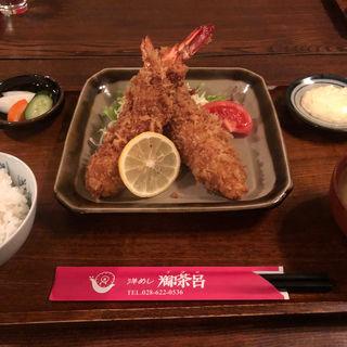 エビフライ定食(洋めし 御茶呂 (ゴサロ))