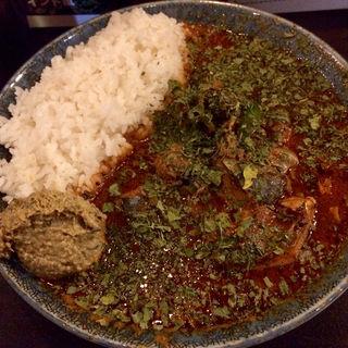 インド風カレー(鯖味噌)(カレーノトリコ )