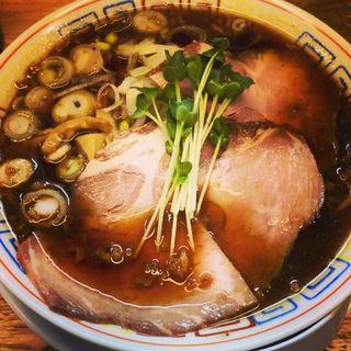 サバ醤油そば(サバ6製麺所 成城学園前店)
