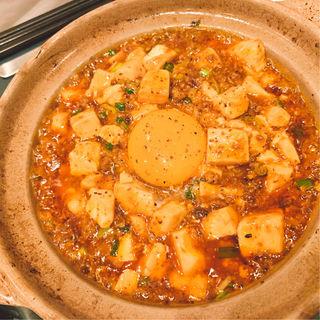 鍋焼き麻婆丼(侑久上海)