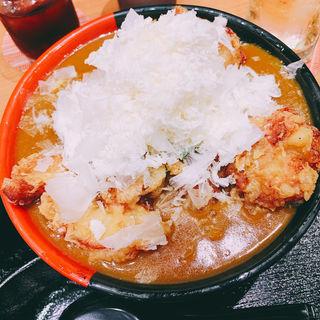 チーズカレーうどん(極楽うどん TKU ルクア大阪店)