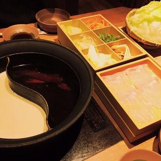 鍋(しゃぶしゃぶ温野菜 心斎橋店)