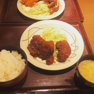 味噌ヒレカツ定食(キッチンなごや )