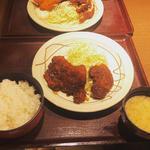 味噌ヒレカツ定食