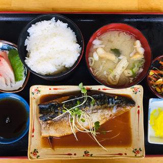 さば味噌定食(寿司と魚料理魚々や )