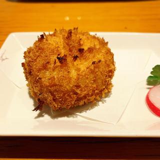 北海道産毛蟹のクリームコロッケ(べるまっしゅ )