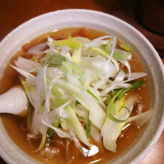 鯛だし・ばら焼豚麺(醤油・塩) 那須の白美人ねぎ入り(らーめん厨房 どる屋 (どるや))
