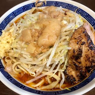 辛いラーメン+炙り豚(ラーメン ゼンゼン (ZENZEN))