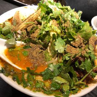 特製カラシビ味噌らー麺(カラシビ味噌らー麺 鬼金棒 池袋店)