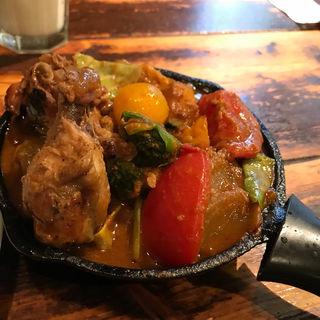一日分の野菜カレー+完全食セット