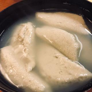 蕎麦がき(総本家更科堀井 本店 (そうほんけさらしなほりい))