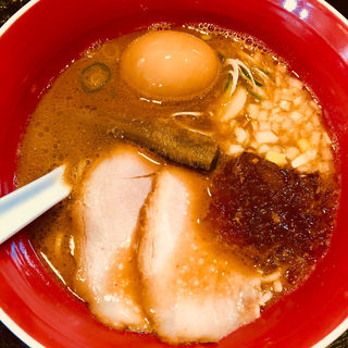 魚介豚骨 醤油