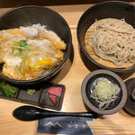 カツ丼(ロース&肩ロース)セット