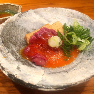 ユッケ(京洛肉料理かなえ)