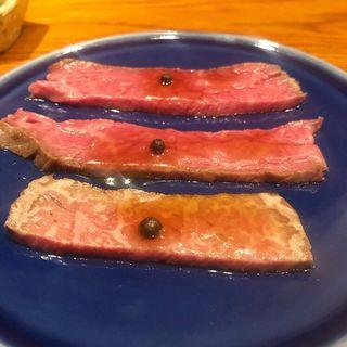 ローストビーフ(京洛肉料理かなえ)
