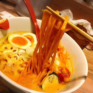 ベジそば(ソラノイロ (ソラノイロ japanese soup noodle free style))