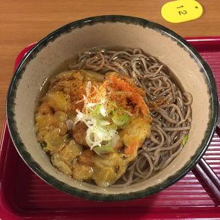 かきあげ蕎麦(喫茶室「十八番」 (おはこ))