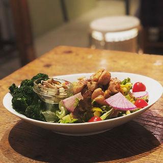 旬野菜の大きなサラダ(杢)