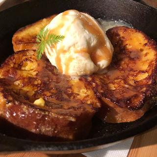 アイスとろけるフレンチトースト(杢)