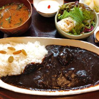 ビーフ黒カレー(金魚坂)
