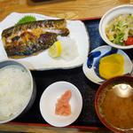 サバ魚醤漬け定食