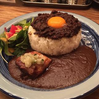 ドライキーマ&ソースカレー(西新宿もうやんカレー なごや )
