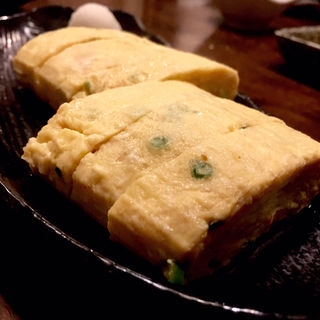 だし巻き卵(炭火 串焼きボンちゃん)
