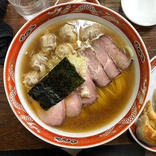 チャーシューワンタン麺(支那ソバ かづ屋 目黒店(本店))